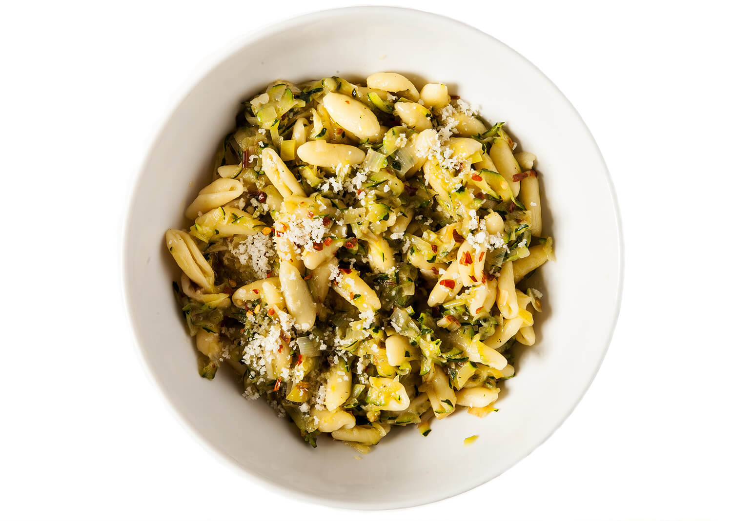 spicy-cavatelli-with-zucchini-and-leeks