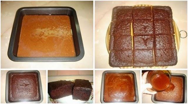 До чего необычное пирожное!