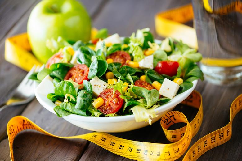 салат на диете